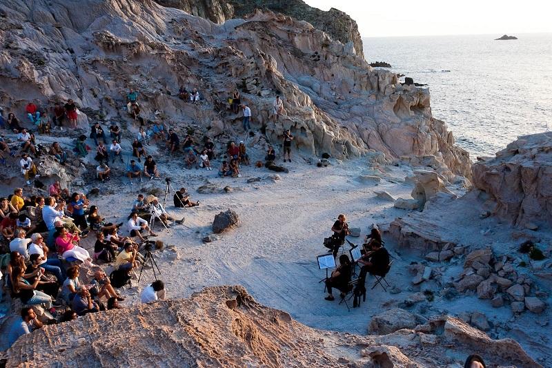 Creuza de Mà 2018 - Carloforte - Concerto al tramonto a Capo Sandalo - le Ciasette (foto Sara Deidda)