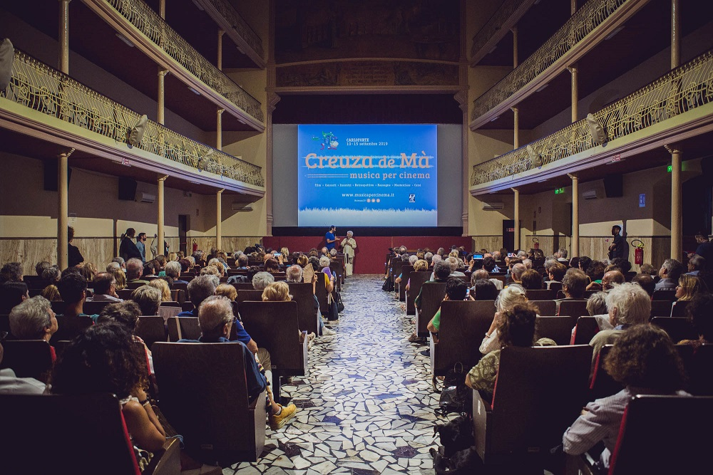 Creuza de Mà 2019 - Pubblico al cinema Cavallera (foto Sara Deidda) (2m)