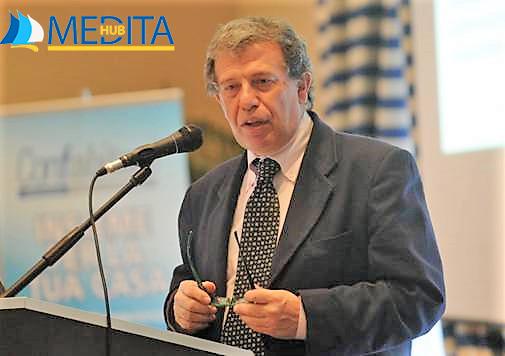 Il prof. Mauro Alvisi, Presidente di Medita Hub