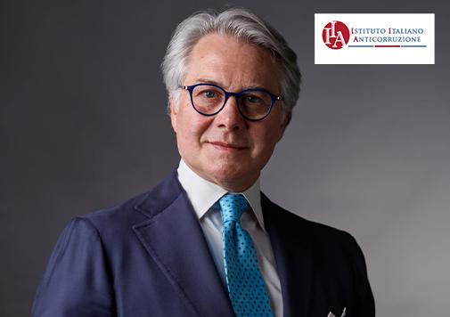 L'avv. Federico Bergaminelli, Presidente dell' Istituto Italiano Anticorruzione