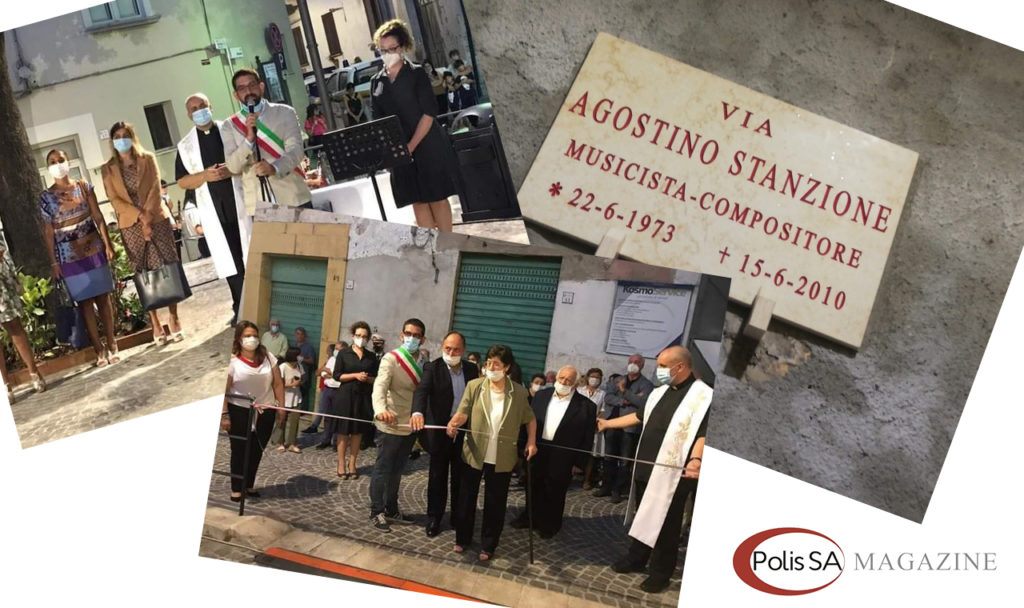 In memoria di Agostino Stanzione viene intitolata una strada a Fisciano