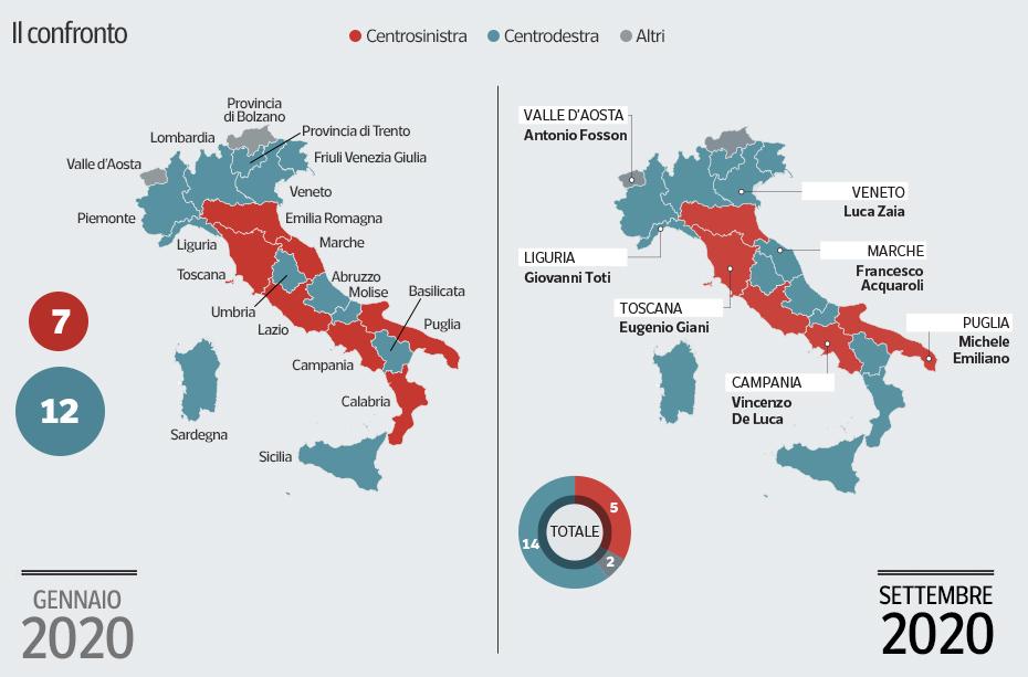 mappa confronto