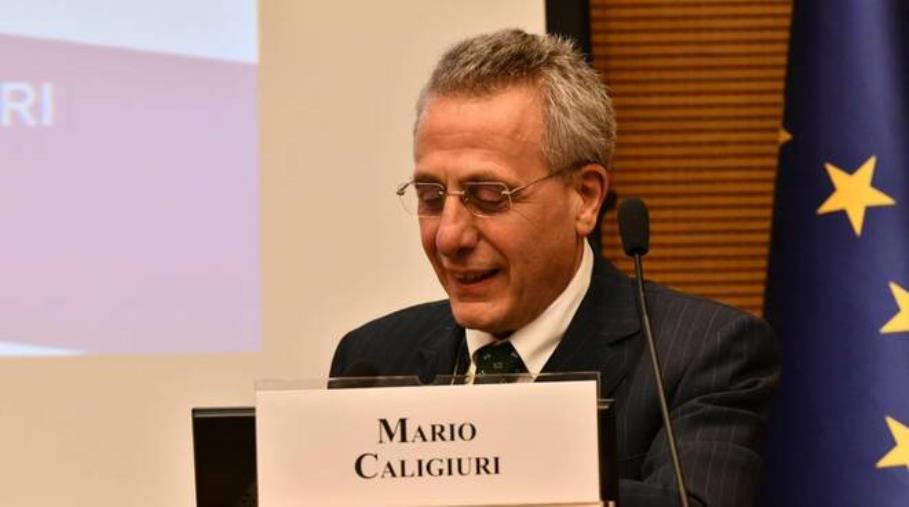 Il presidente di SOCINT, Mario Caligiuri